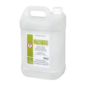 CITRO 025 professzionális citromsavas vízkőoldó